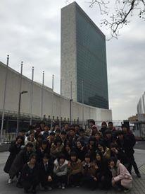 国連本部前