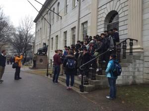 4: ハーバード大学キャンパスツアー