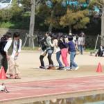 歓迎遠足 クラス対抗ムカデ競走