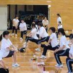 女子 準備体操