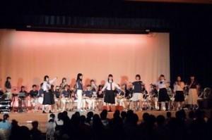 吹奏楽ステージ