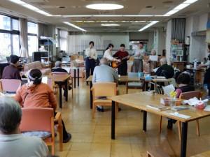 老人福祉施設訪問