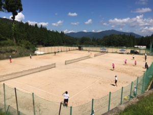 ソフトテニス部合宿1