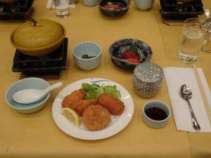 今日の夕食です