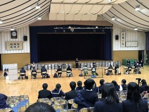 大会風景・明石高校
