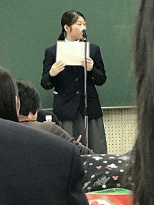 西山さんの朗読