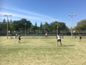 ソフトテニス個人戦1