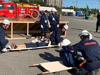 人命救助訓練の様子