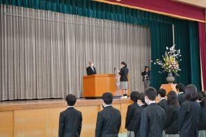 4/8 令和元年度 入学行事を行いました