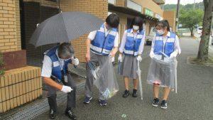 9/9 校外クリーン作戦 決行!