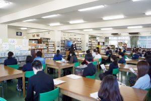 12/5 第4回学校説明会を行いました