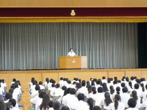 Read more about the article 7/20 終業式を行いました