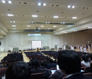 開会式過去最高の高校生10%