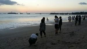 ジンバラン、サンセットビーチ、バリお別れ_9731