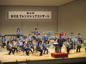 西脇市吹奏楽団の演奏
