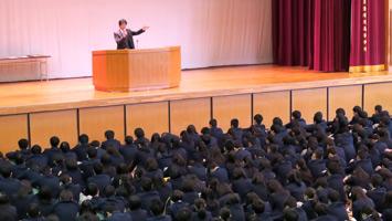 学校長の話