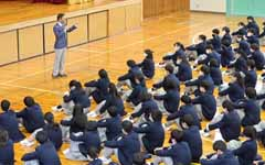 生徒指導部長講話