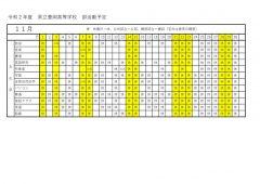豊岡高校:部活動予定文化部(R211のサムネイル