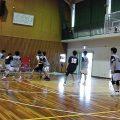 男子バスケットボール部 6月23日 三木北高校・西脇高校との練習試合