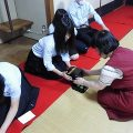 3年生 選択授業『日本の文化』授業風景
