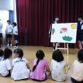 3年生 家庭科(選択Ⅳ 子どもの発達と保育) 特別授業
