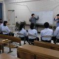 3年生 ボランティア実践特別授業「手話講座」授業風景