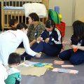 3年生家庭科(選択Ⅲ 子どもの発達と保育) 特別授業